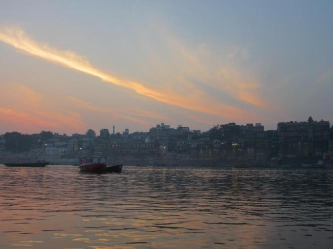 1final-Sundown on the Ganges, Varanasi